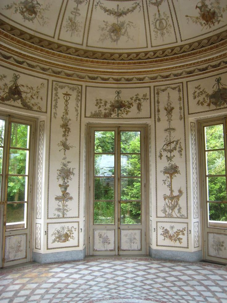 17 best images about int rieur du ch teau on pinterest for Salle a manger style baroque