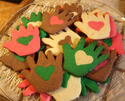 Love in Hand Cookies for MLK Day