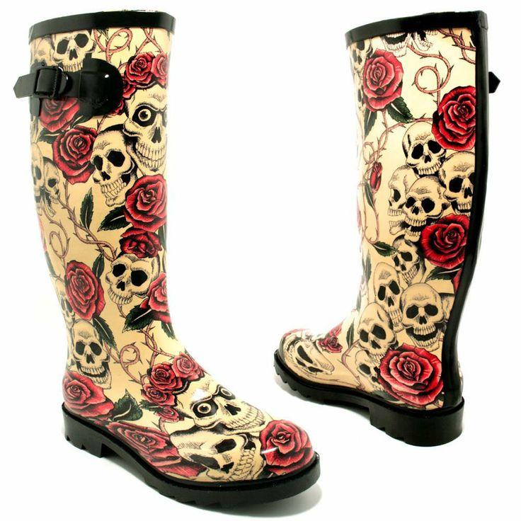"Amazon.com: Spy Love Buy Womens Festival Wellies Wellingtons Boots ""Savannah"": Shoes"
