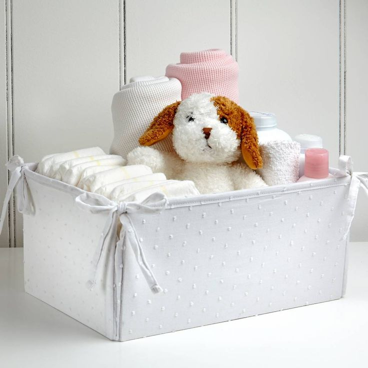 Product Image for carter's® Lily Nursery Storage Bin 2 out of 3
