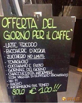 Foto divertente: Viva i baristi!