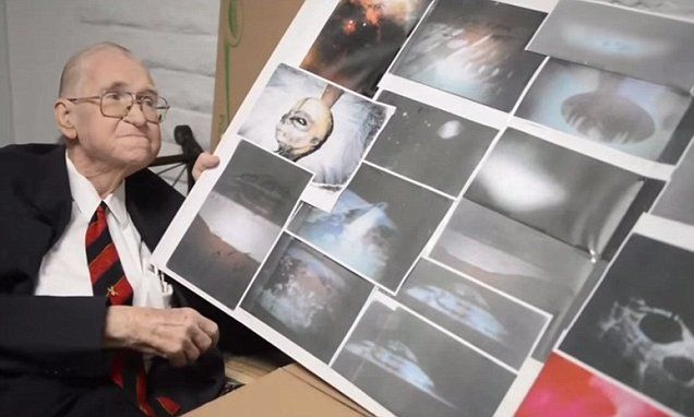 In a video Boyd Bushman (shown) says aliens are real and they have visited Earth. Before passing away on 7 August 2014 he said incidents such as Roswell in 1947 were caused by aliens.