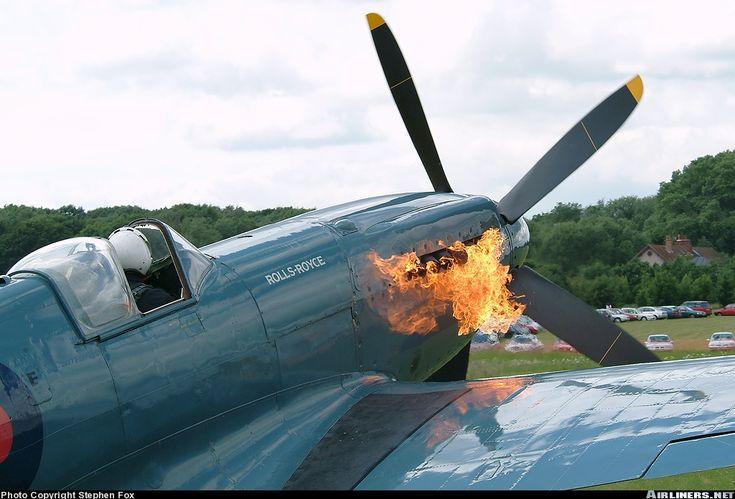Spitfire engine start-up
