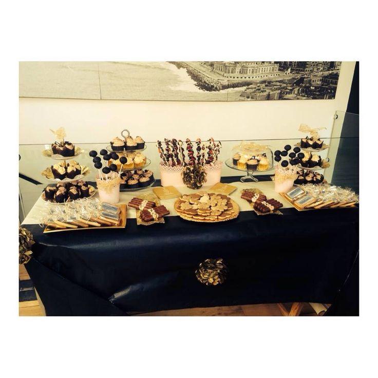 Candy bar para la inauguración de la Sastrería Albaldetreku en San Sebastián