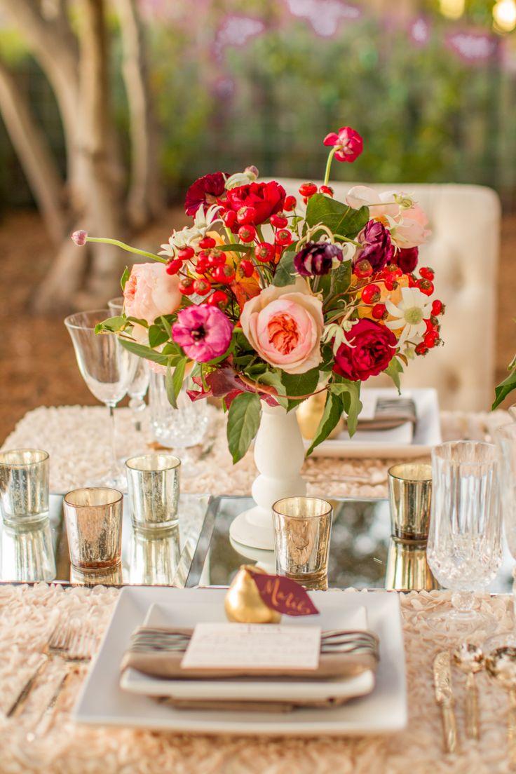 Coral Colored Flower Arrangements Best 25+ Apricot weddi...