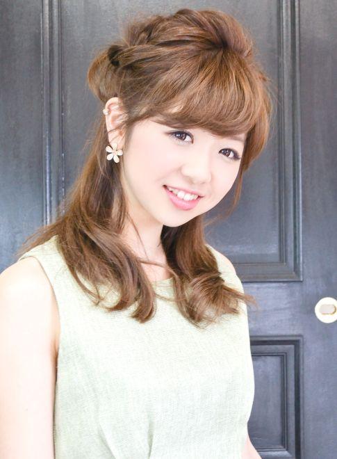 ラフルーズ簡単無造作シンプルハーフアップ 【PATIONN】 http://beautynavi.woman.excite.co.jp/salon/27004 ≪arrange・hairstyle・アレンジ・ヘアスタイル≫