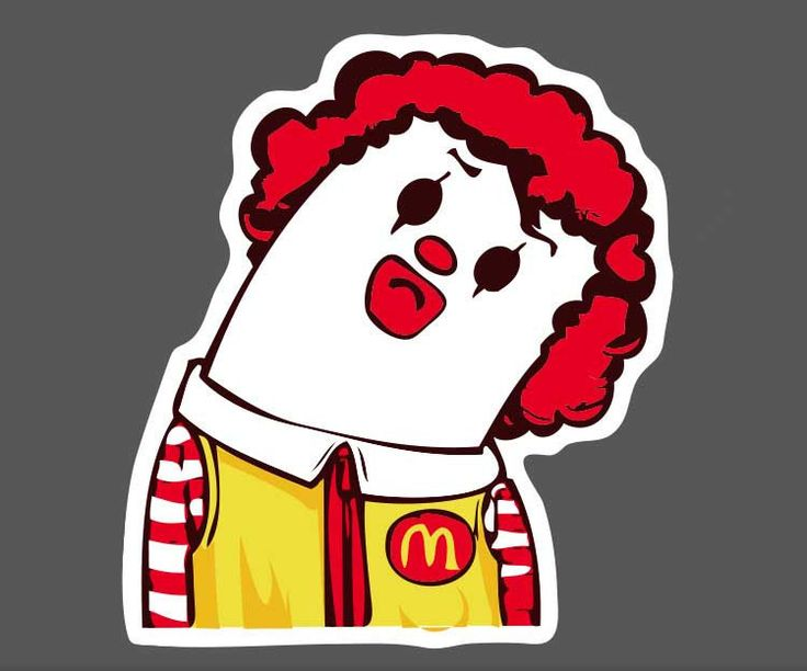 10pcs Kids Toy Sticker Horror Red Hair P Stickers Funny Stickers For Kids Cartoon Home Decor Laptop Skateboard Stickers  #Affiliate