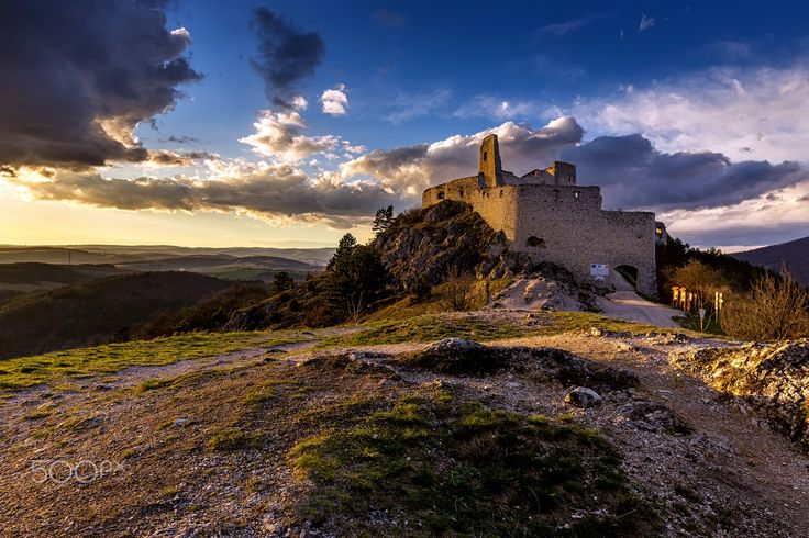 "Sunset at the Bathory castle - One old shoot from march 2015  Follow me on <a href=""https://www.facebook.com/lubosbalazovic.sk"">FACEBOOK</a> or <a href=""https://www.instagram.com/balazovic.lubos"">INSTAGRAM</a>"