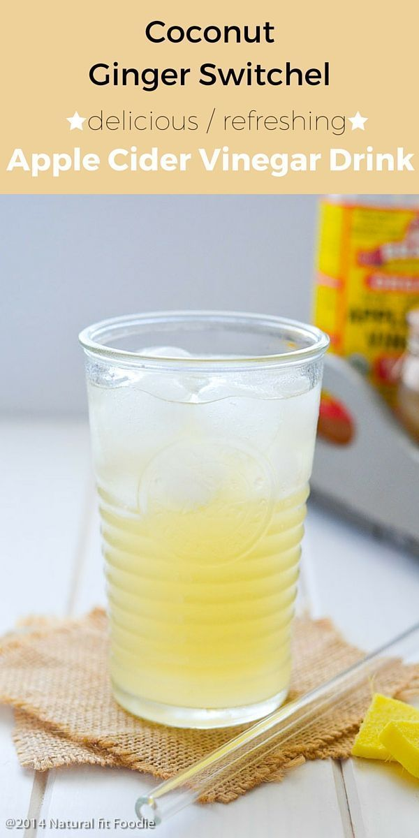 Coconut Ginger Switchel Recipe - This Coconut Ginger Switchel is the perfect…