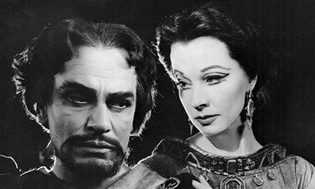 Vivien Leigh and Laurence Olivier in Macbeth - Olivier's 'lost' film scripts found!