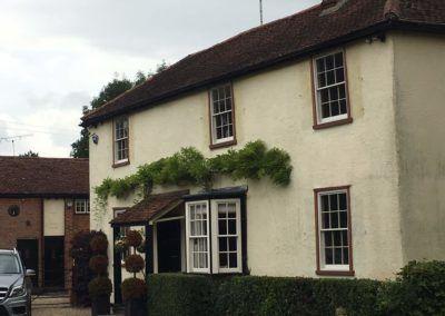 Historic sash windows