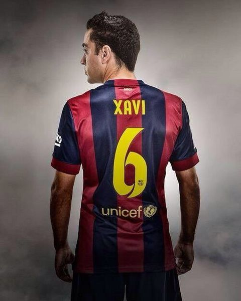 Comprar camiseta XAVI Barcelona primera 2014-2015