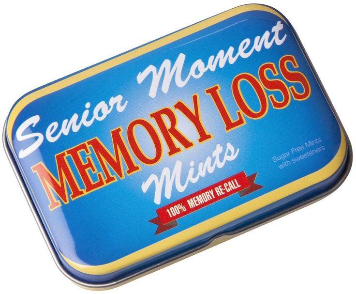 Joke Tin Mints Anti Snoring Swearing Memory Loss Bed Fart Naughty Male Pill
