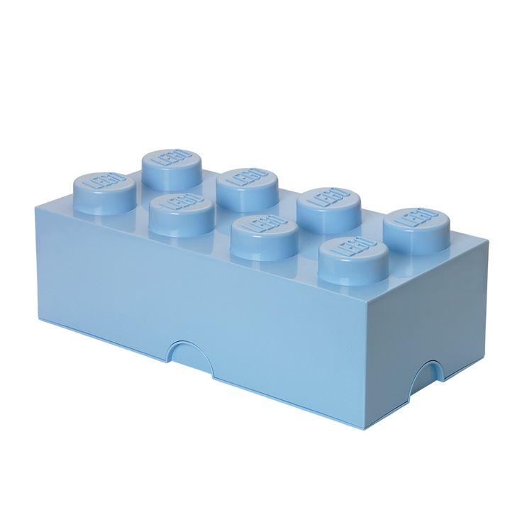 Lego Storage Brick 8 Light Royal