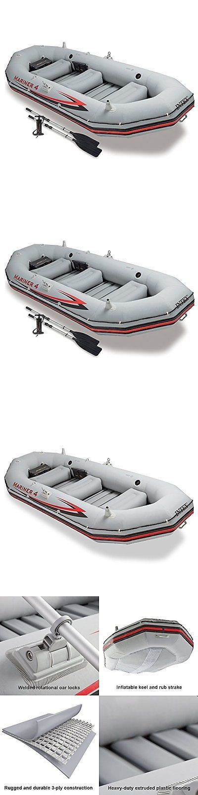 Inflatables 87090: Boating Ntex 4 Person Inflatable Raft River Lake Dinghy Boat Oars Mariner Relax -> BUY IT NOW ONLY: $362.17 on eBay!