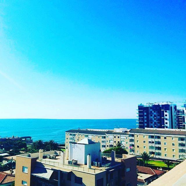 Beautiful sea views from Punta Prima.