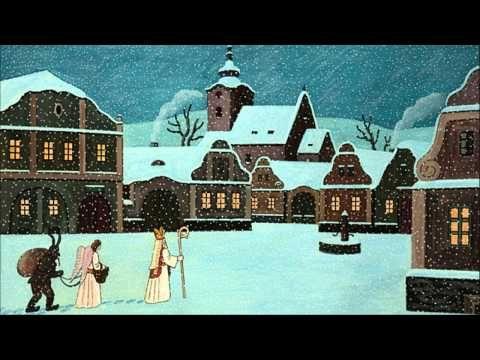 Vánoční koleda: V půlnoční hodinu (text) - YouTube