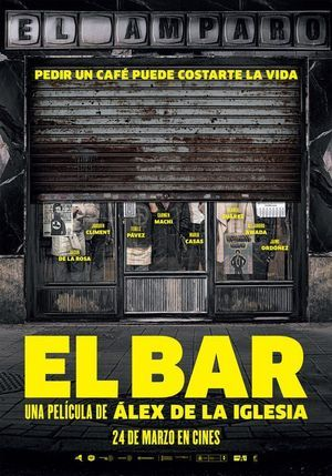 Watch El bar Full Movie Online A group of strangers are trapped inside a bar. El bar Full Movie Online.
