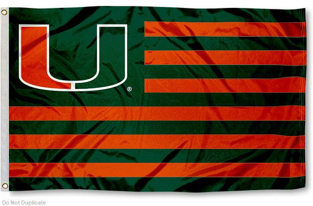 University of Miami Hurricanes Flag for Alumni Nation | eBay