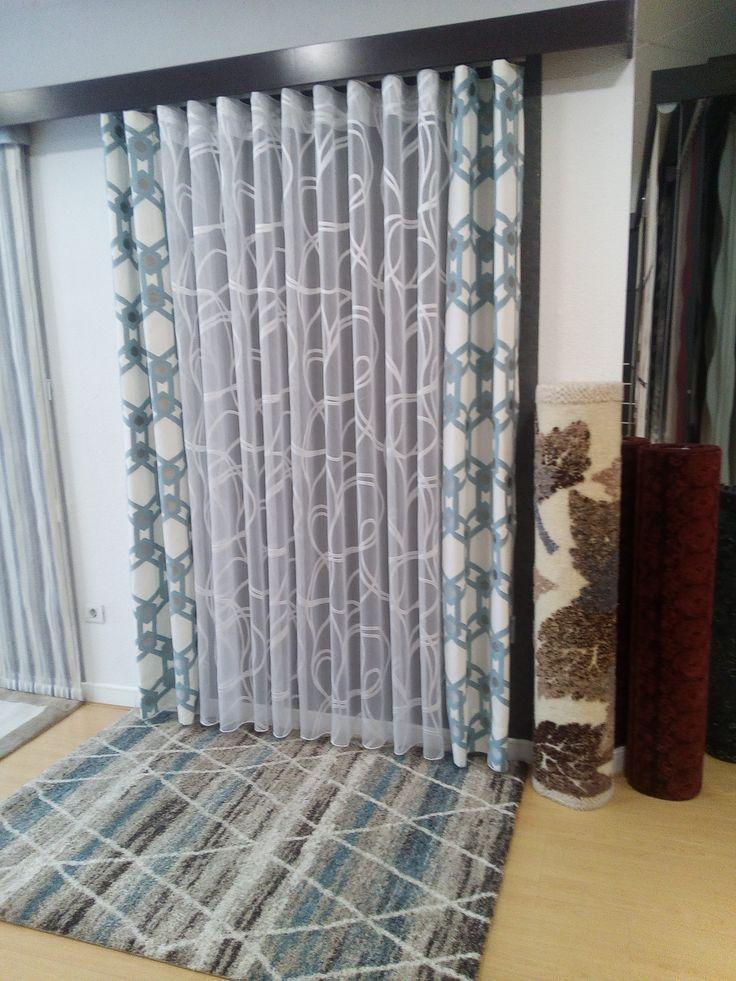 Cortina onda perfecta visillo tapiceria de villanova for Quiero ver cortinas