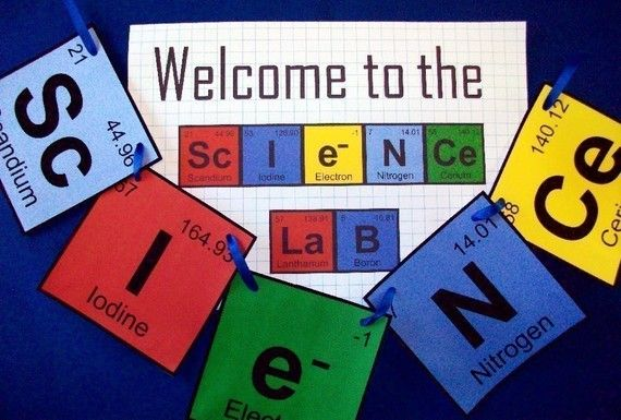 Periodic Table - Science Party Invitation and Decoration Pack