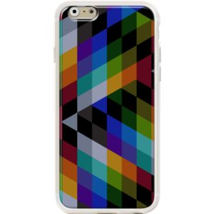 Born To Die By Fimbis for                           Apple  iPhone 6 (4.7')  #fimbis #thekase #borntodie #pattern #blue #style #styleblog #fashion #fashionblogger #fashionblog #styleblogger #iphone6 #designer #iphone6plus #abstract #résumé #géométrique #mode #blogdemode #coques #fblogger #coquesiphone #Noël #festive #defête #idéesdenoël #français #christmasgiftideas #purple #pourpre #vert #orange