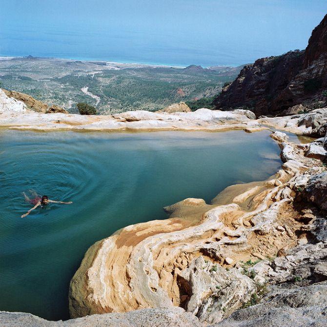 Socotra es una isla en el Océano Índico