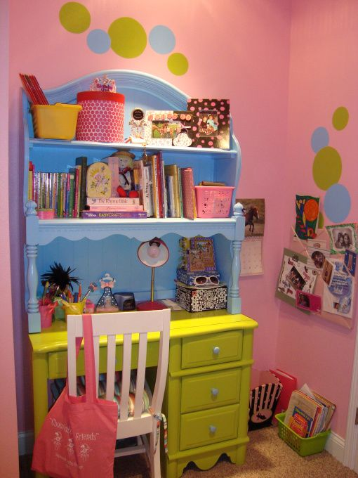 polka dot bedroom this 8 year old girls bedroom is bright