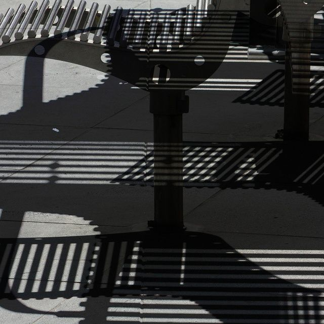 Shadows, Bourke Street,  Melbourne, Victoria.
