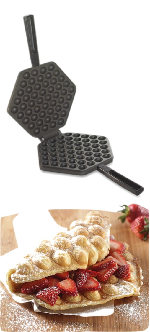 Oh, I have always wanted a bubble Pancake maker! Might have to buy myself a gift! :)
