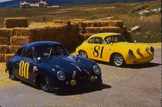 1953 and RHD 1965 356 Coupes. Porsche 356 Outlaws built by Rod Emory @ Emory Motorsports