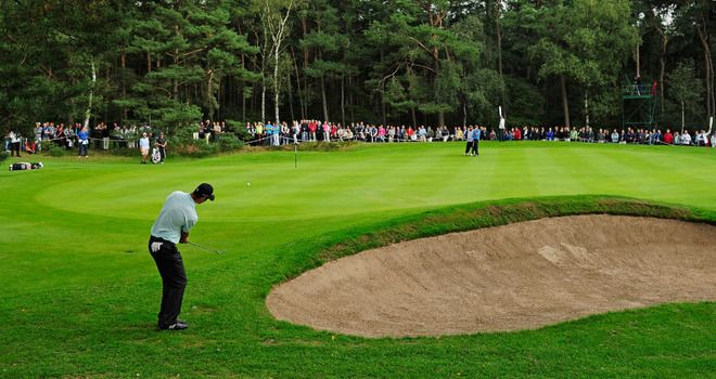 KLM Open golf event 2014