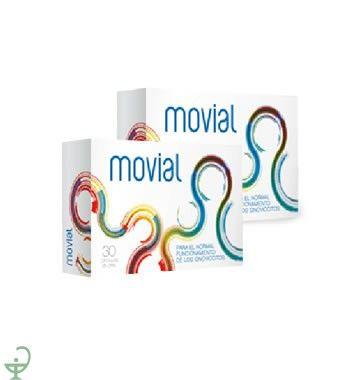 32,90€ PVP - Pack de 2 cajas de 30 comprimidos de #movial para el correcto funcionamiento de tus #articulaciones http://www.parafarmaciaporinternet.com/movial-30-comprimidos-4410.html