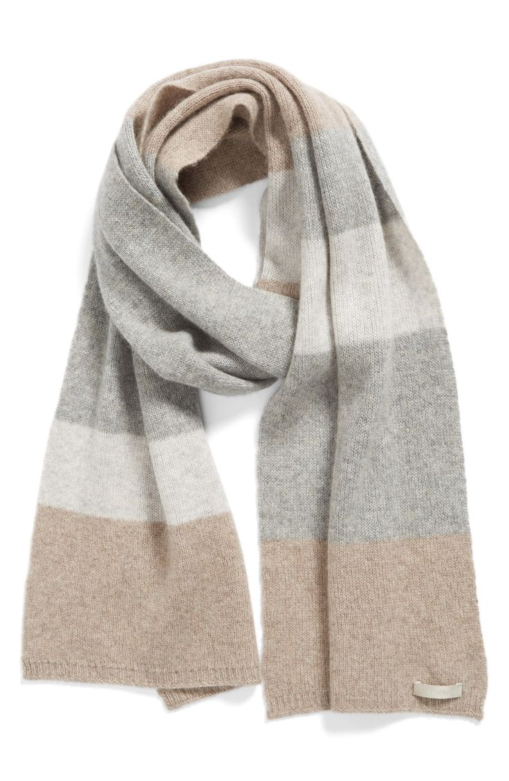 Halogen® Colorblock Cashmere Muffler                                                                                                                                                                                 More