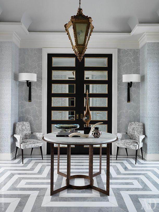 Квартира в Нью-Йорке, декоратор Жан-Луи Денио