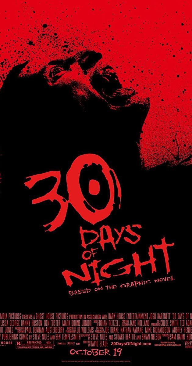 30 Days Of Night 2007 Imdb 30 Days Of Night Night Film Best Vampire Movies