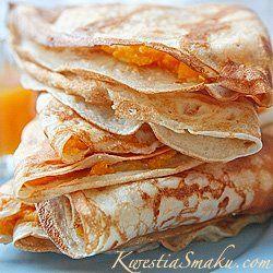 Naleśniki z dynią i serem białym | Kwestia Smaku