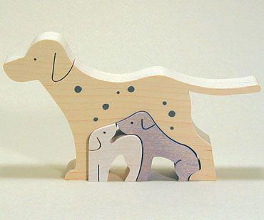 Scrollsaw dog