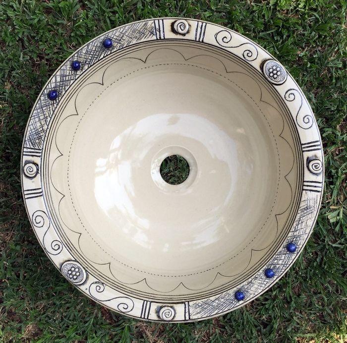 Basins and Prep Bowls Gallery Item r-2026 - Rhoda Henning's Pottery Studio