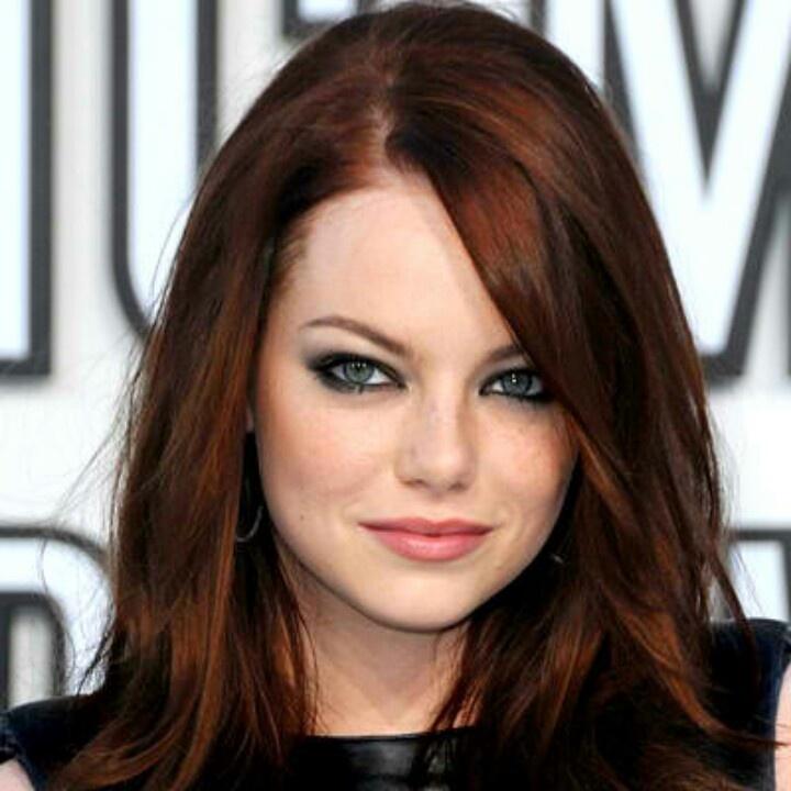 Emma Stone Auborn hair for Fall | Hair Color Ideas ...  Emma Stone Red Hair