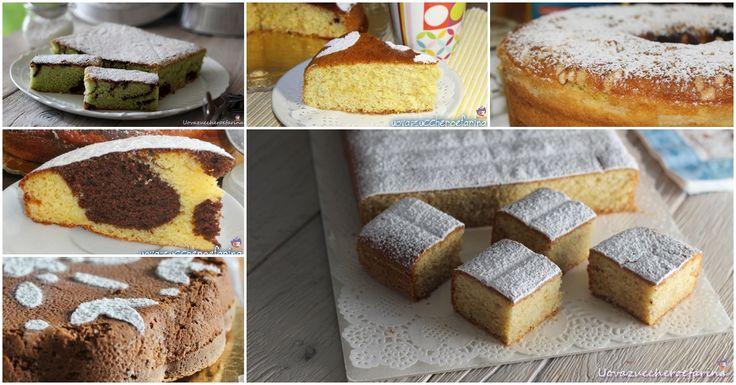 Una selezione di torte da credenza adatte per la prima colazione o per la…