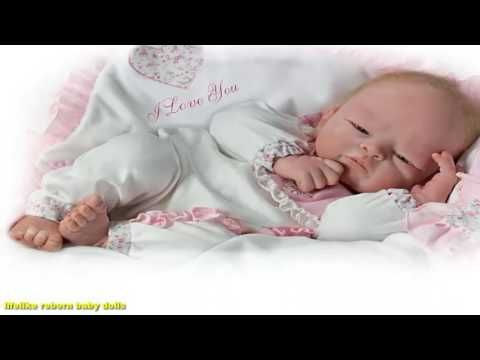 WELCOME HOME BABY GIRL Ashton Drake So Real Touch Baby Doll by TASHA EDE...