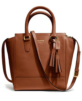 COACH LEGACY LEATHER MINI TANNER - Coach Handbags - Handbags & Accessories - Macy's