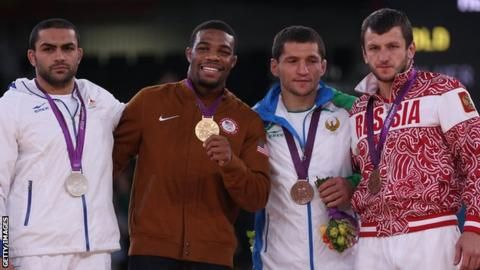 Uzbekistan wrestler Soslan Tigiev has been stripped of an Olympic medal for the second time, for failing a drugs test at the Beijing Games. He is one of nine athletes, including six medallists, dis…