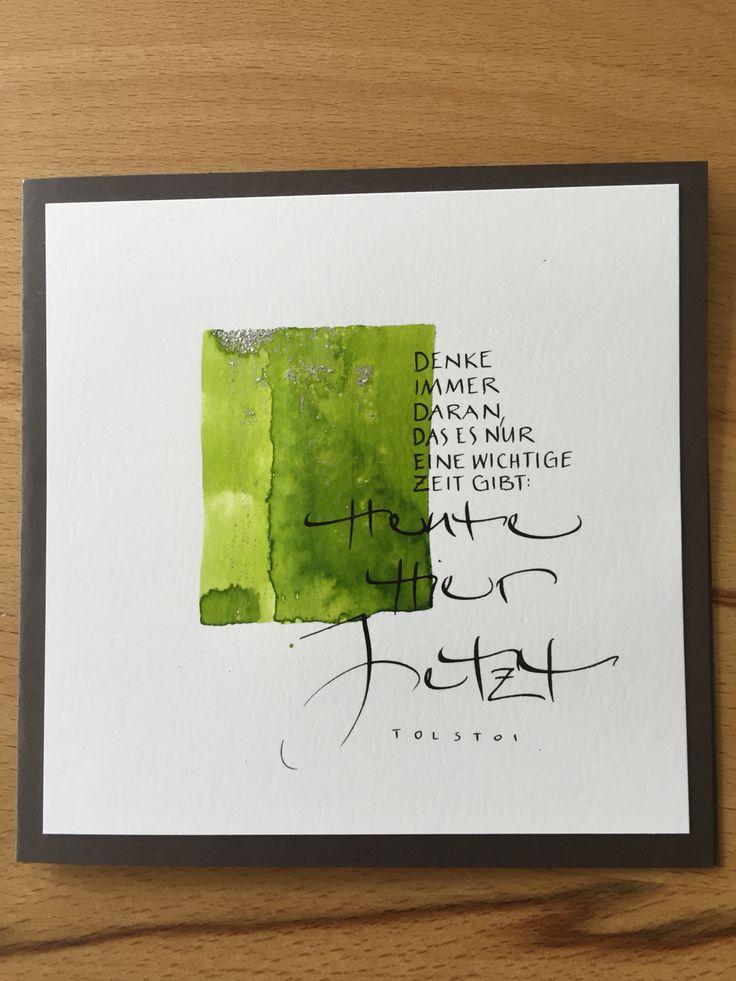 Kalligraphiekarte                                                       …