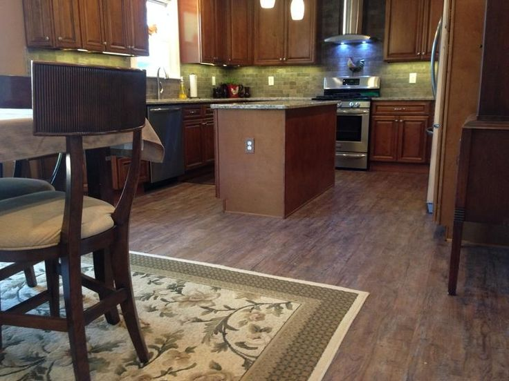 333 best images about home inspiration kitchens on for Evp plank flooring