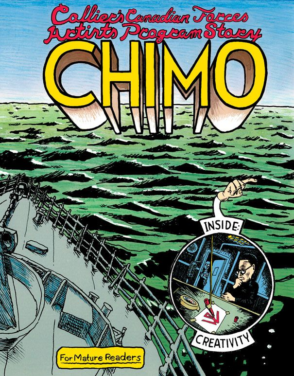 GRAPHIC NOVEL: Chimo by David Collier (Conundrum Press)