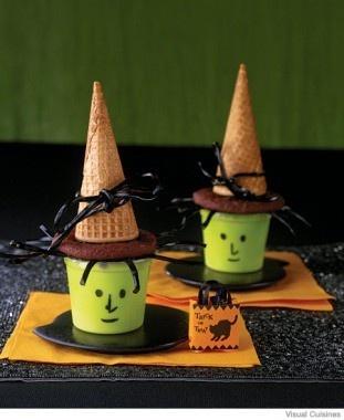 Cute Halloween snack..