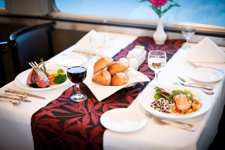 Dine and Wine in style while on-board at #VIARail VIA Rail's photo.