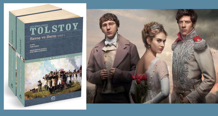 Tolstoy'un ünlü romanı Savaş ve Barış dizi olarak televizyonda yayınlanınca İngilizler kitabı alıp okumaya başladı. Roman çok satanlar listesine girdi. http://724kultursanat.com/savas-ve-baris-dizi-oldu-roman-listelere-girdi/http://724kultursanat.com/savas-ve-baris-dizi-oldu-roman-listelere-girdi/  #724kultursanat #tolstoy #savaşvebarış